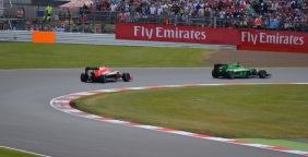 Marussia V Caterham - Silverstone 2014